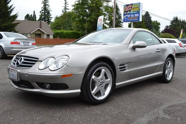 2003 Mercedes SL500 **Immaculate, Mercedes Serviced, 63K mi*Clearance*