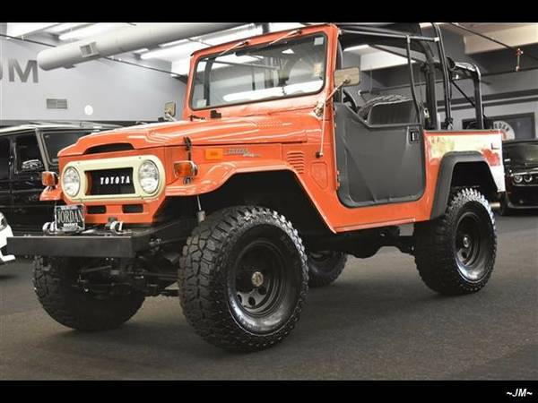 1972 *Toyota* LAND CRUISER FJ40 4X4 V6 AUTOMATIC LIFTED CLEAN 1970...