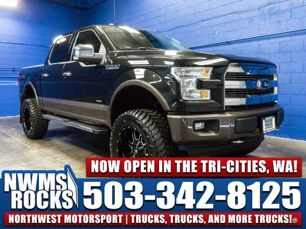 Lifted 2015 *Ford F150* Lariat 4x4 -