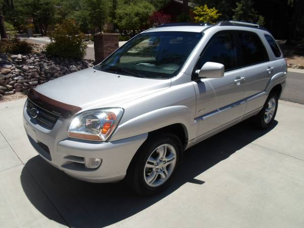 2006 KIA SPORTAGE**4X4**LIMITED**CLEAN TITLE**