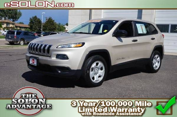 2014 Jeep Cherokee Sport - contact us at