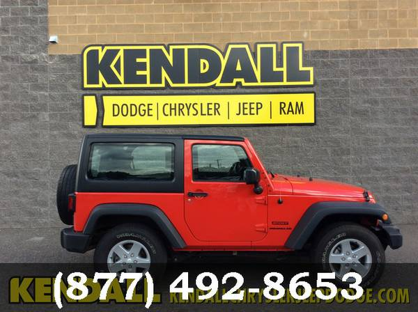 2015 Jeep Wrangler RED INTERNET SPECIAL!
