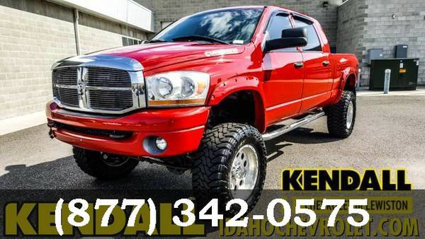 2006 Dodge Ram 2500 Flame Red Good deal!