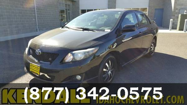 2009 Toyota Corolla BLACK Great Price**WHAT A DEAL*