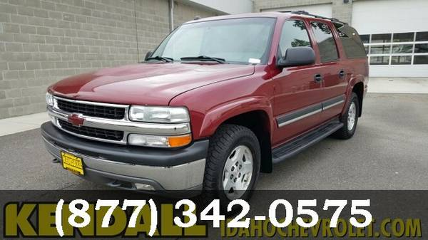 2004 Chevrolet Suburban Sport Red Metallic Must See - WOW!!!