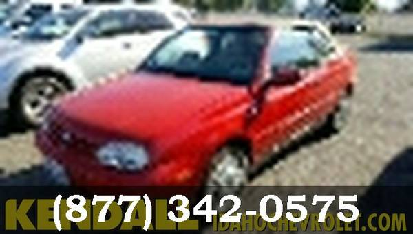 2001 Volkswagen Cabrio RED ***BEST DEAL ONLINE***