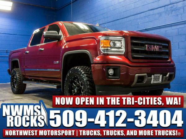 Lifted 2014 *GMC Sierra* 1500 All Terrain 4x4 -