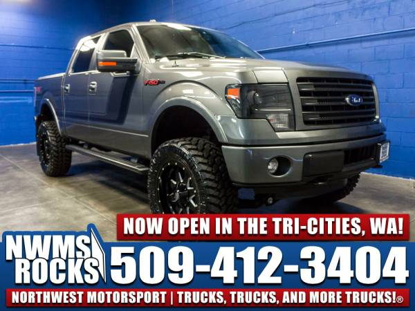 Lifted 2014 *Ford F150* - 2014 Ford F-150 FX4 4x4 Truck with a Brand...