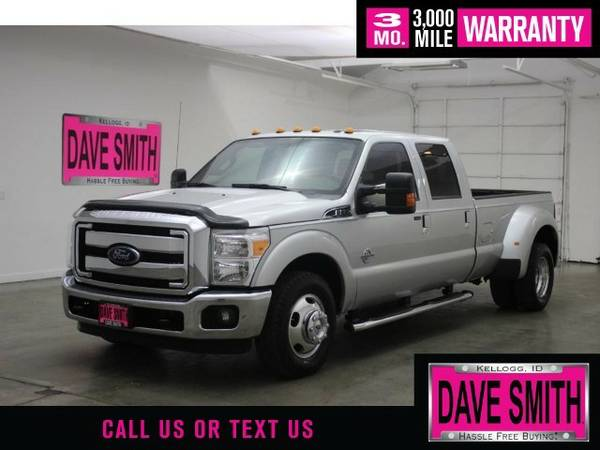 2015 Ford Super Duty F-350 DRW Lariat