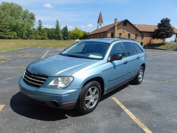 2008 CHRYSLER PACIFICA LOADED MOONROOF XCLEAN IN/OUT DRIVES A1 LOW MI!