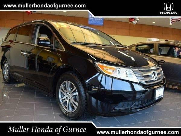 2013 *Honda Odyssey* EX-L - Crystal Black Pearl