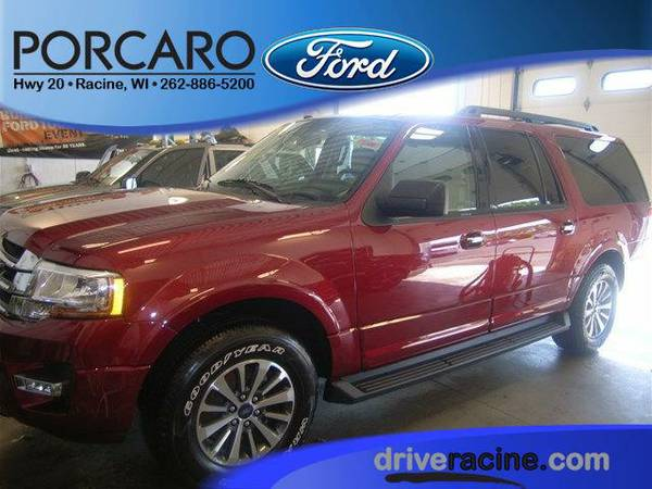 2016 *Ford Expedition EL* - Ruby Red Metallic Tinted Clearcoat
