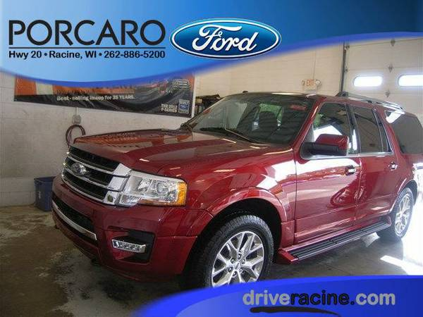 2016 *Ford Expedition EL* Limited - Ruby Red Metallic Tinted Clearcoat