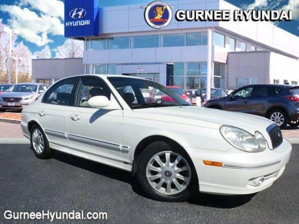 2004 *Hyundai Sonata* GLS (White Pearl)