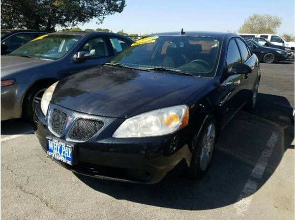 2009 Pontiac G6 Sedan 4D supershopperdeals.com