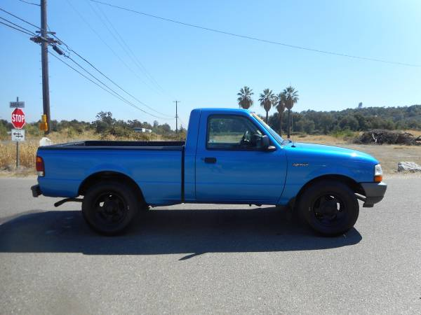 1999 FORD RANGER 4 CYLNDER 5 SPEED