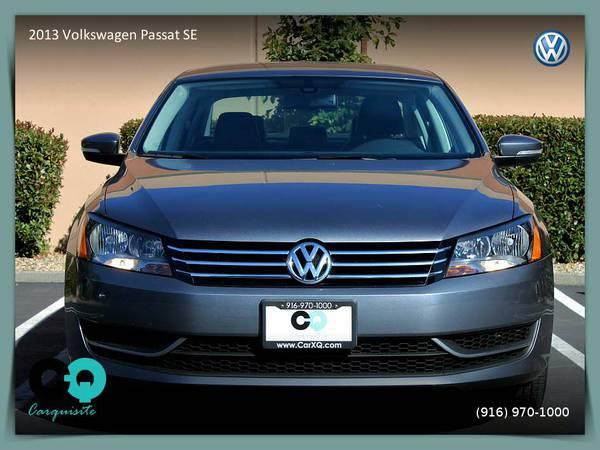 2013 Volkswagen Passat SE Sedan - MORE FOR YOUR MONEY!