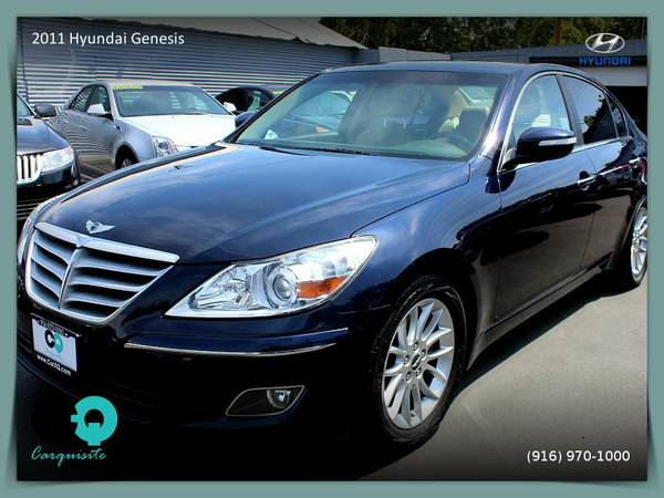 2011 Hyundai Genesis Sedan - Clearly a better value!