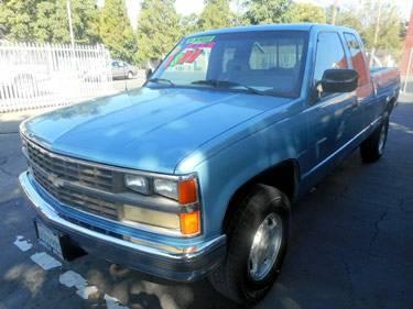 A 1989 Chevrolet Silverado