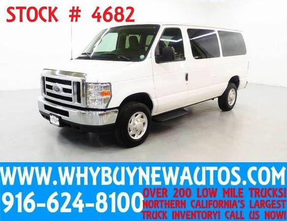 2013 *Ford* *E350* ~ XLT ~ Luxury Captains Chair Package ~ Only 55K Mi