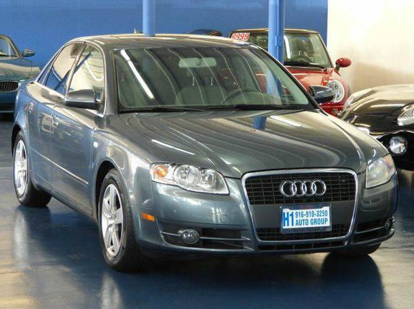 2006 *Audi* *A4* 2.0T 4dr Sedan w/CVT