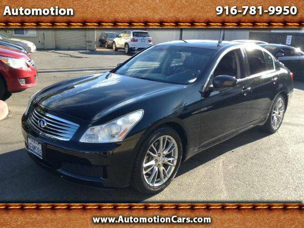 2008 *Infiniti* *G35* Sedan with Leather **Everyone Is Approved**