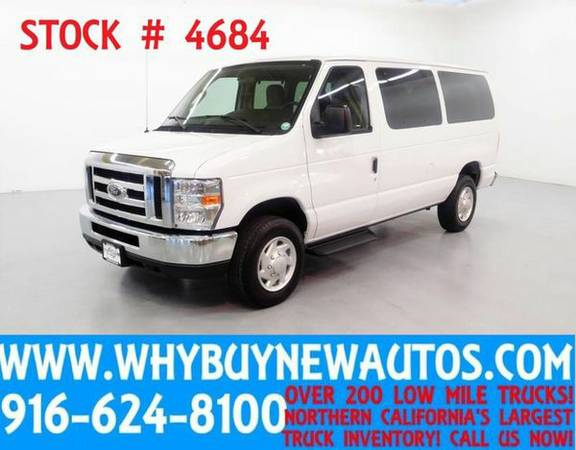 2013 *Ford* *E350* ~ Luxury Captains Chair Package ~ Only 13K Miles!