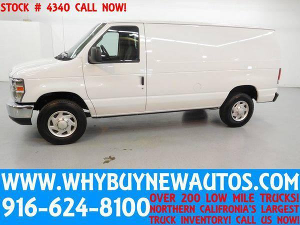2014 *Ford* *E250* ~ Cargo Van ~ Only 19K Miles!