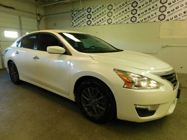 2015 Nissan Altima Pearl White For Sale *GREAT PRICE!*