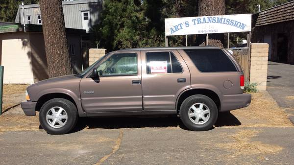1998 Olds Bravada all wheel drive