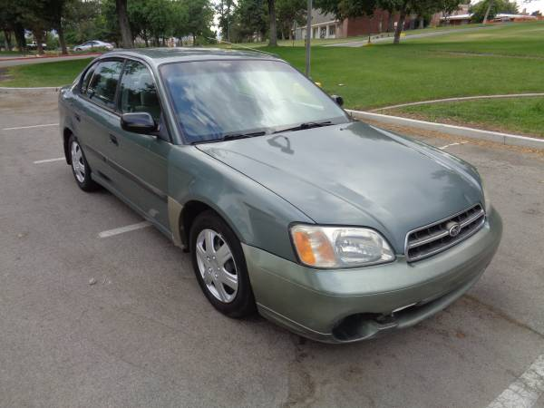 2000 Subaru Legacy sedan, AWD, auto, 4cyl. 159k, good cond, RUNS GRT!