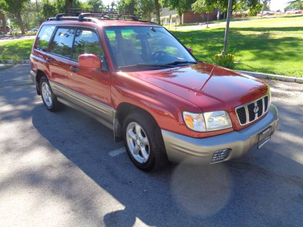 2002 Subaru Forester S, AWD, auto, 4cyl. 176k, loaded, EXLNT COND!