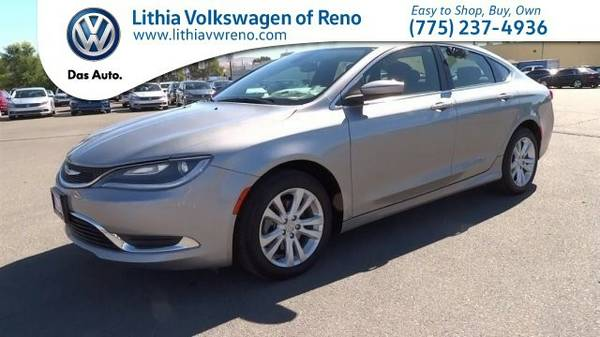 2015 Chrysler 200 LIMITED (You Save $1,432 Below KBB Retail)