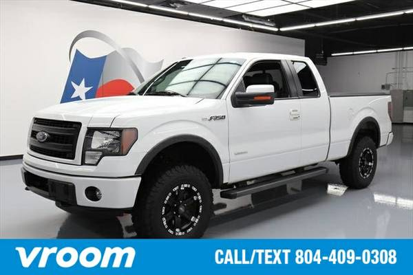 2012 Ford F-150 4x4 FX4 4dr SuperCab Styleside 6.5 ft. SB Truck 7 DAY