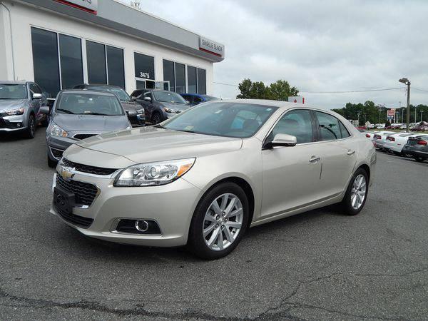 2014 *Chevrolet* *Malibu* LTZ w/1LZ -Easy Financing!!!