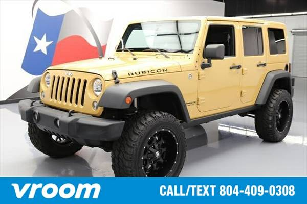 2014 Jeep Wrangler Unlimited Rubicon 7 DAY RETURN / 3000 CARS IN STOCK