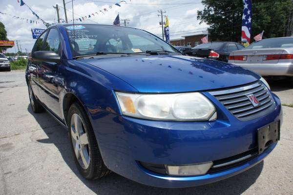 2006 SATURN ION 4 CYL 5-SPEED ALLOYS LEATHER SUNROOF