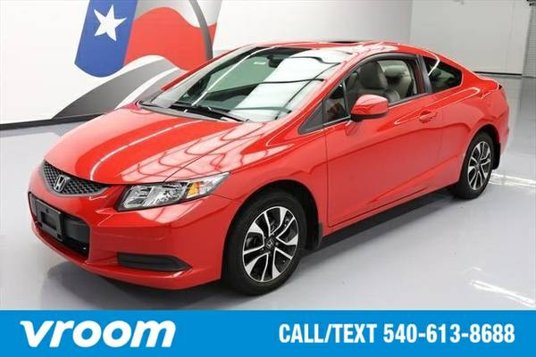 2013 Honda Civic EX 2dr Coupe Coupe 7 DAY RETURN / 3000 CARS IN STOCK