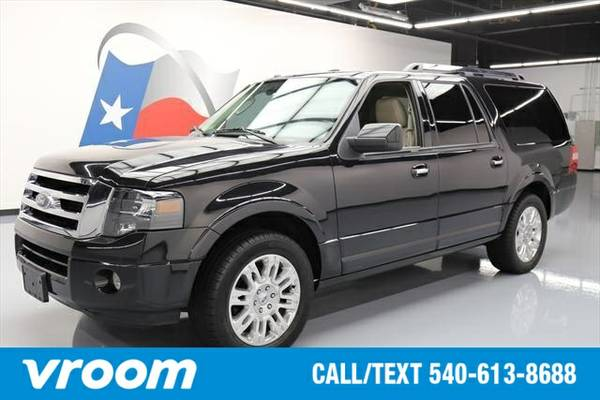 2014 Ford Expedition EL Limited 7 DAY RETURN / 3000 CARS IN STOCK