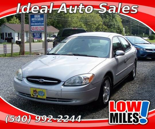 2003 FORD TAURUS SES-- LOW MILES