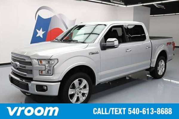 2015 Ford F-150 Platinum 4dr SuperCrew 4WD Truck 7 DAY RETURN / 3000 C