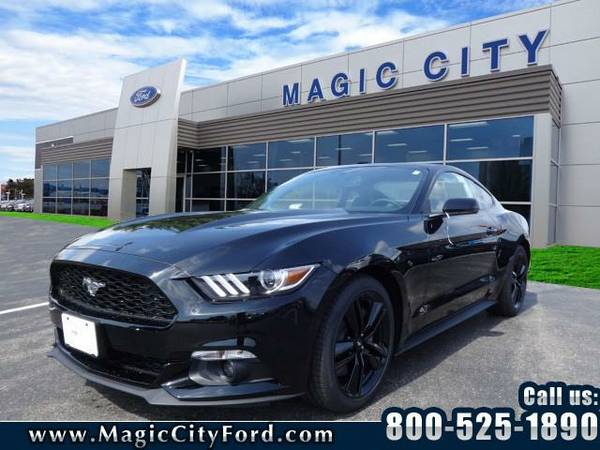2017 *Ford Mustang* EcoBoost Premium (Shadow Black)