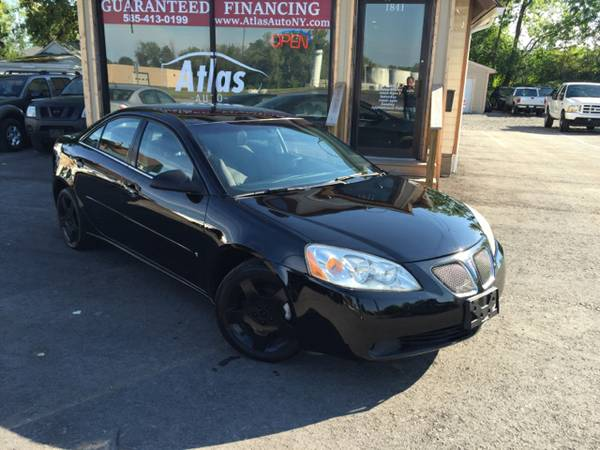 2007 Pontiac G6 Black on Black Clean 90k Miles Guaranteed Financing!!!