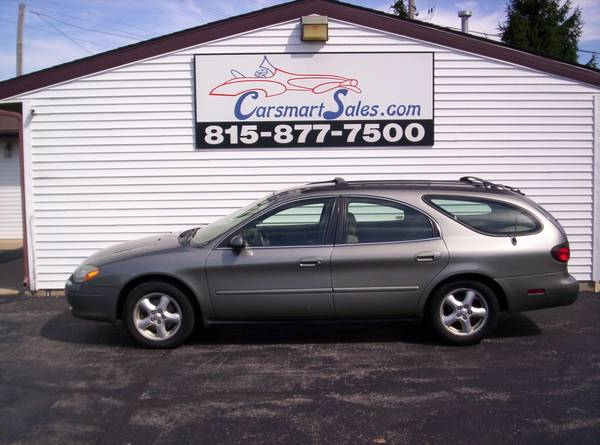 2003 Ford Taurus 4DR SE WAGON - RARE 8 seater with THIRD SEAT - nice