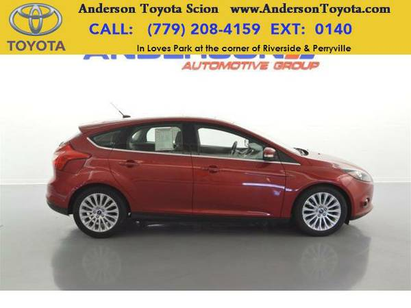 2012 *Ford Focus* Titanium-Ask about no payments until 2017!