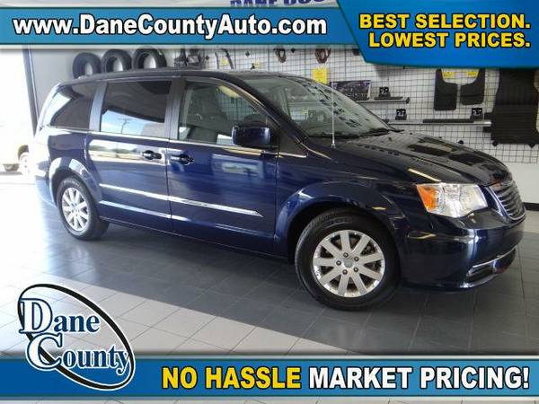 2015 *Chrysler Town & Country* Touring - Chrysler True Blue Pearlcoat