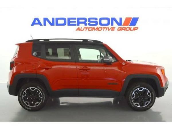 2016 *Jeep Renegade* Trailhawk (Colorado Red)