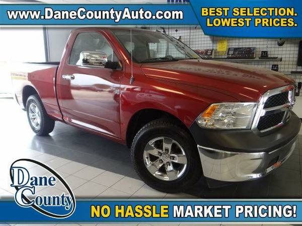 2013 *RAM 1500* ST-4x2-Regular Cab-Tradesman - RAM Flame Red Clearcoat