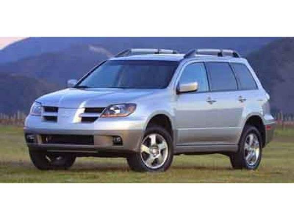 2003 *Mitsubishi Outlander* XLS (Munich Silver Metallic)