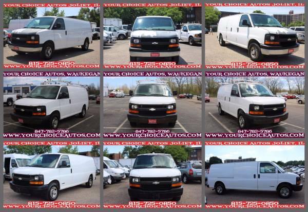 2006-2007-2008 CHEVROLET EXPRESS 2500-3500 CARGO VAN W/CABINET SHELVES